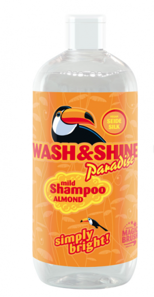 Magic Brush Wash & Shine Shampoo Almond von Kerbl 500 ml