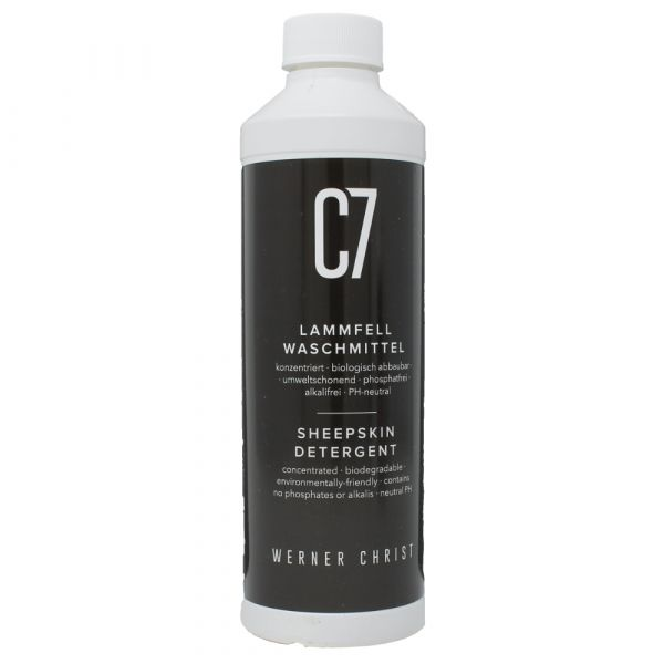 C7 Lammfellwaschmittel von Christ Lammfelle 250 ml