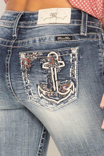 Miss Me Jeans Sweet Oasis Embellished Capri