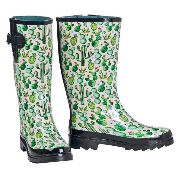 Rain Boots Damen Cactus