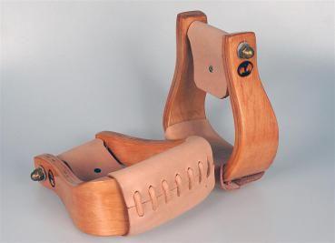 Holzsteigbügel
