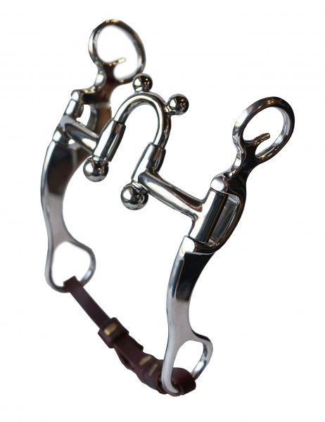 BF Correction Bit w. Balls & Ears Swivel Cheek