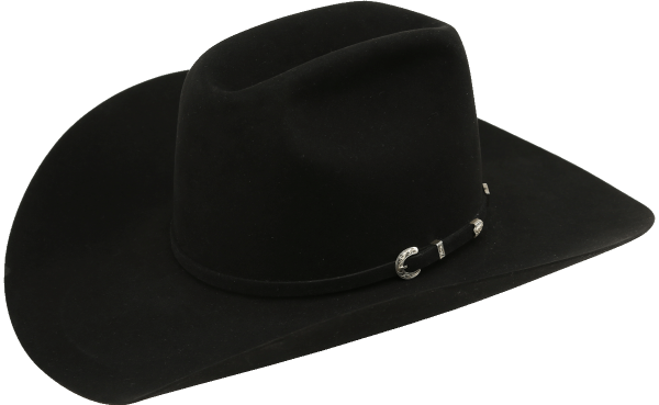 American Hat Co. Filzhut Black 15X