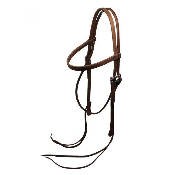 Harness Kopfstück Straight Band