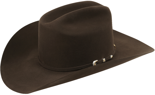 American Hat Co. Filzhut Chocolate 7X