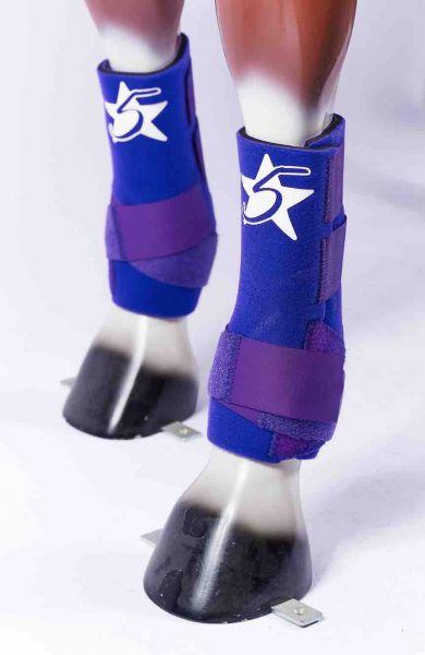 5 Star Boots - Purple