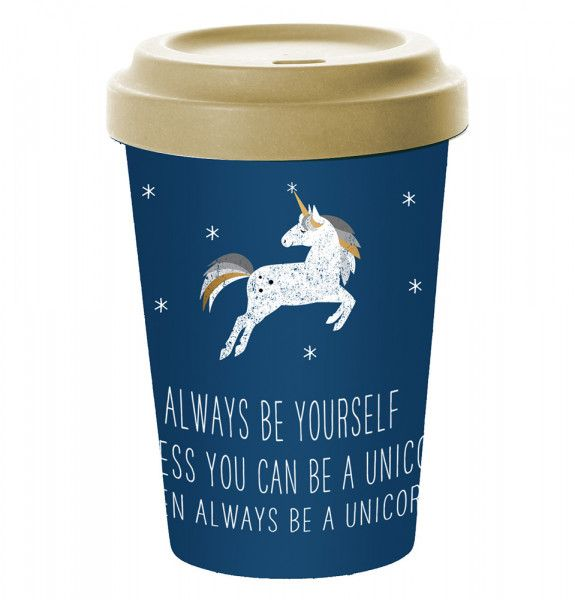 Bambusbecher Unicorn