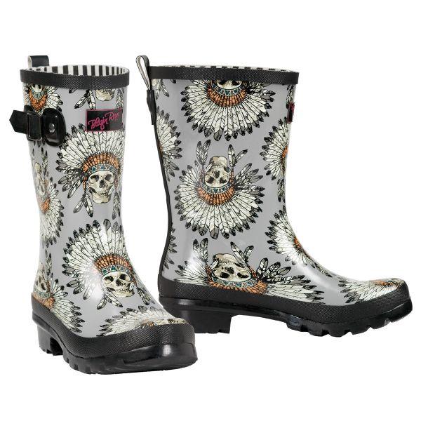 Rain Boots Damen Remi Grey
