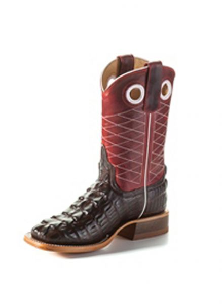 Macie Bean Kids Stiefel Chocolate Caiman