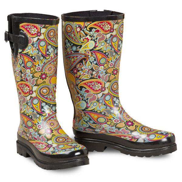 Rain Boots Damen Paisley