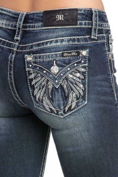 Miss Me Jeans Fallen Angel
