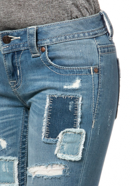 Miss Me Jeans Patched UP