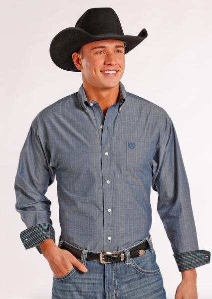 Panhandle Hemd jeans blue