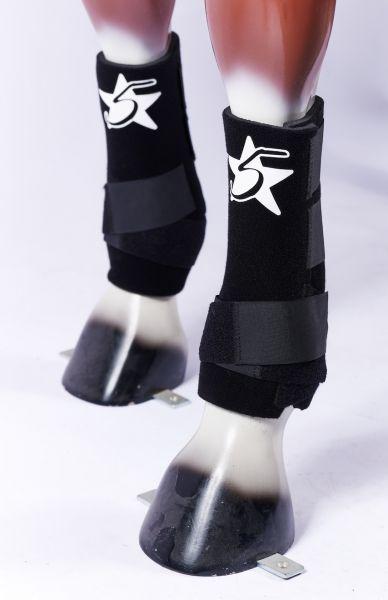 5 Star Boots - Black