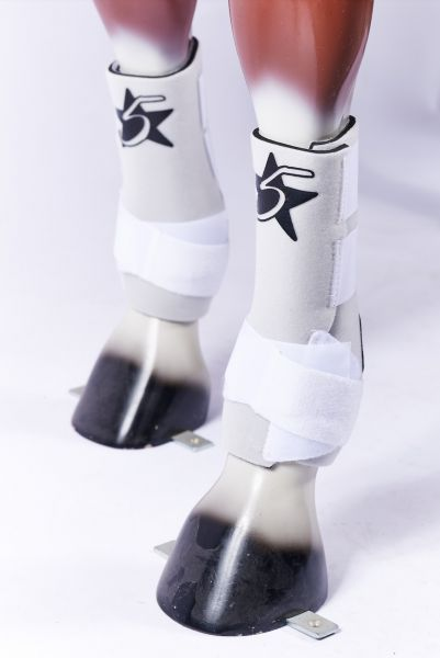 5 Star Boots - White