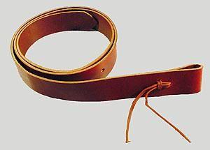 Tie Strap aus Latigo Leder von Superior Saddlery