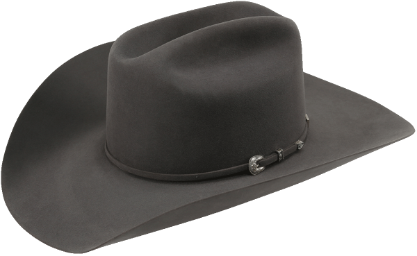 American Hat Co. Filzhut Steel 7X