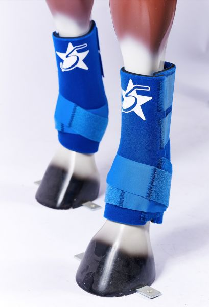 5 Star Boots - royal blue