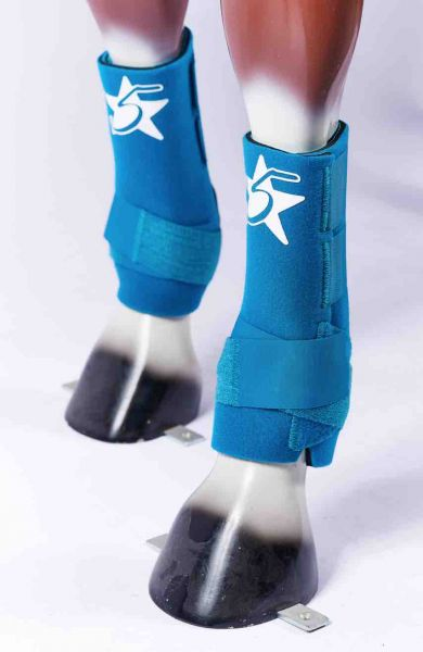 5 Star Boots - Turquoise
