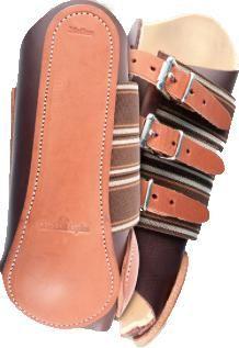 Classic Equine Leather Splint Boots