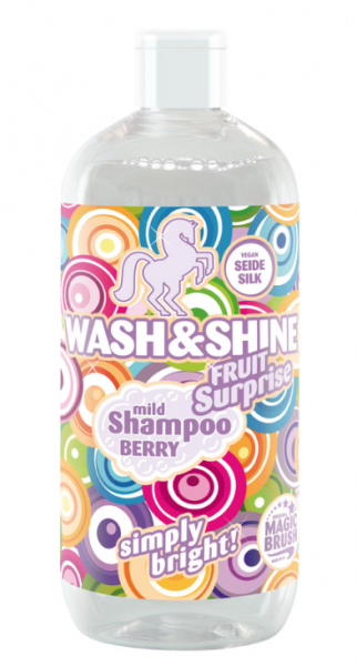 Magic Brush Wash & Shine Shampoo Berry von Kerbl 500 ml