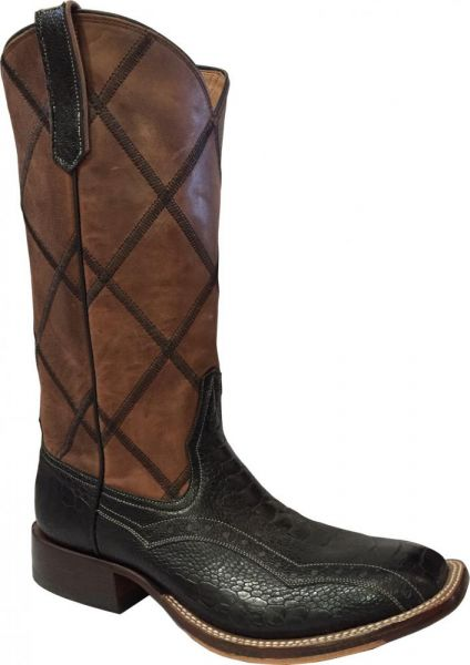 Rio's of Mercedes Herrenstiefel Caiman Black