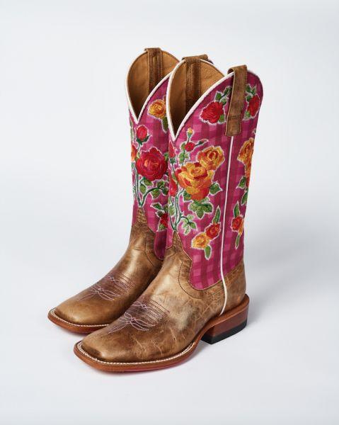 Macie Bean Boots Boxy Lady - Goldilocks