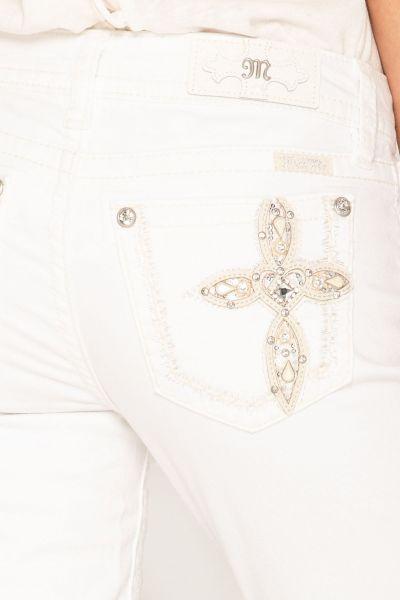 Miss Me Jeans Live in Love Cross